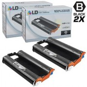 LD Compatible Replacements for Brother PC301 Set of 2 Fax Cartridges With Roll for use in Brother FAX 885MC Intellifax 750 770 775 870MC 885MC and MFC-970MC Printers