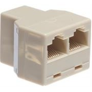 NetiX RJ45 Port Doubler 1 x RJ45 plug to 2 x RJ45