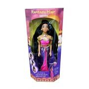 1994 Mattel Disney Princess Fantasy Hair Jasmine Doll Vintage Rare