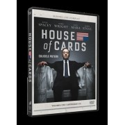 House of cards:Kevin Spacey,Robin Wright - Culisele puterii: Capitolele 1-13 (4DVD)