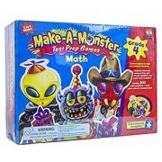 Make-A-Monster Math Test Prep Games - Grade 4