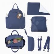 Pelenkázótáska Infinity 5in1 toTs-smarTrike belső táskával és termikus cumisüvegtartóval kék
