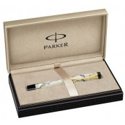 Roller Pearl and Black GT Duofold Parker