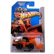 2013 Hot Wheels Hw City - Wheel Loader (Black & Orange)