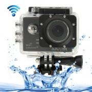 SJCAM SJ5000+ Ambarella Full HD 1080P 1.5 inch LCD Screen WiFi Sports Camcorder Camera with Waterproof Case 16.37 Mega CMOS Sensor 30m Waterproof(Black)