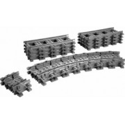 Set Constructie Lego City Set Constructie Flexible Tracks