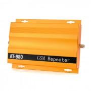 AT-980 2G / 3G / 4G del telefono celular Repetidor de senal Amplificador Booster - Golden