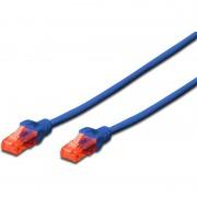 Digitus Patchkabel, Kat. 6, U/UTP, 2,0 m, blau