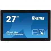 Monitor LED Touchscreen Iiyama T2735MSC-B2 27 inch 5ms Black