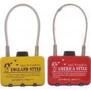 EZ Life Wire Locking -Assorted Design Safety Lock(Multicolor)