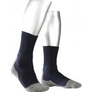 Falke Herren Socken Trekking Socken Microfaser grau-dunkelblau grau,blau