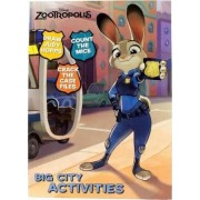 Disney Zootropolis Big City Activities by Parragon Books Ltd