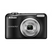 Nikon Coolpix A10 Point and Shoot Digital Camera (Black) with 8GB Memory Card and Camera Case