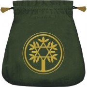 Celtic Tree Velvet Tarot Bag by Lo Scarabeo