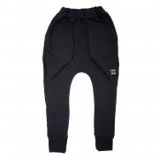 Pantaloni lungi Fleece - negru, 2-4 ani