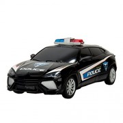 Police Elite High Speed Power Chase Friction Police Car (Black)