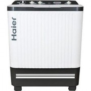 Haier 7.2 kg Semi-Automatic Top Loading Washing Machine (HTW72-187S S-1 White)