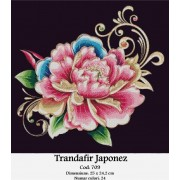 Trandafir japonez (kit goblen)