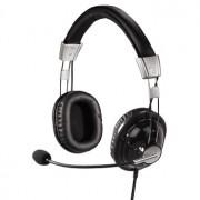 Casti PC, negru, HAMA HS-300