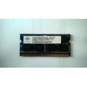 Nanya 4GB 2Rx8 PC3-10600S 1333MHz Laptop RAM NT4GC64B8HG0NS-CG