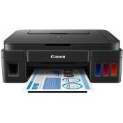 Multifunctional Canon Pixma G2400, Inkjet, A4, 9 ipm, CISS + Cartus cerneala Canon GI-490 BK, acoperire aprox. 6000 pagini (Negru) + Cartus cerneala Canon GI-490 C, acoperire aprox. 7000 pagini (Cyan) + Cartus cerneala Canon GI-490 M, acoperire aprox. 700