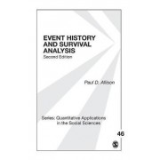 Event History and Survival Analysis by Paul D. Allison