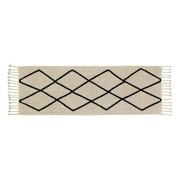 Wasbaar tapijt Bereber Beige - 80x230cm