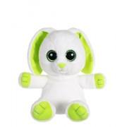 Gipsy 070424 - Peluche Petillous Color, a forma di coniglio, 20 cm, colore: verde