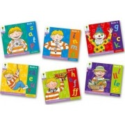 Oxford Reading Tree: Level 1+: Floppy's Phonics: Sounds and Letters: Pack of 6 by Roderick Hunt