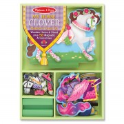 1148 Melissa & Doug Clover Magnetic Dress-Up - 8591