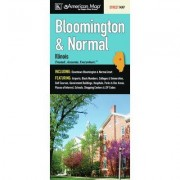 Universal Map Bloomington/Normal Fold Map (Set of 2) 12199