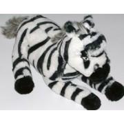 Black & White Stripe Zebra Stuffed Animal Plush Pal