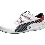 Puma BMW EvoSpeed Lo white/red