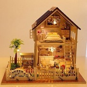 Rylai Wooden Handmade Dollhouse Miniature DIY Kit - Paris Apartment Wooden Dollhouses & Furniture/Pa