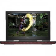Лаптоп Dell Inspiron 7567, 15.6 инча, Intel Core i7-7700HQ Quad-Core, 8GB, 1TB, Червен, 5397063994359