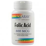 Acid folic 800mcg - Solaray Longeviv.ro