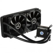 Enermax Liqtech 240 ELC-LT240-HP Sistema di Raffreddamento a Liquido per CPU All-in-One con Radiatore da 240mm, Nero