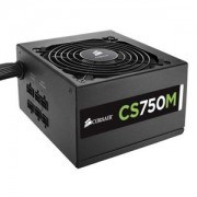 Sursa Corsair CS 750W, semi-modulara, 80 Plus Gold, PFC Activ, CS750M