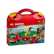 LEGO Valiza Patrula de pompieri (10740)
