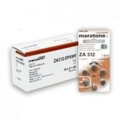 Baterii auditive zinc-aer Renata Maratone+ ZA312