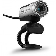 AUSDOM 1080P HD USB Webcam with Built-in Microphone 12.0MP Auto Exposure Digital Zoom Clip-On/Freestanding Network Computer Camera Web Cam for Laptop/Desktop/Skype /FaceTime/Youtube/Yahoo Messenger