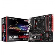 GIGABYTE GA-B250M-Gaming 5 LGA1151 Intel Micro ATX 2-Way Crossfire DDR4 USB 3.0 RGB FUSION M.2 Smart Fan 5 Motherboard