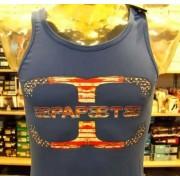 Papeete Canotta uomo Papeete con logo grande versione America