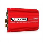 COUGAR 3000 Watt max. 6/5/4/3 - канален усилвател за автомобил HIFI Mosfet (C.500.6)