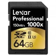 Cartão de Memória SDXC - LSD64GCRBEU1000 Professional 1000x - 64GB