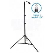 Statyw studyjny oświetleniowy JH-806 109-290cm, głowica 16mm + trzpień 1/4''