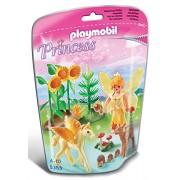 Playmobil 5353 - Fée Automne Avec Poulain ailé - orange