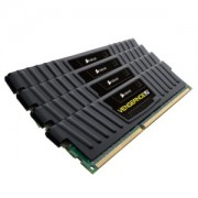 Memorie Corsair Vengeance Low Profile 16GB (4x4GB) DDR3 PC3-12800 CL9 1600MHz 1.5V XMP Dual Channel Kit, CML16GX3M4X1600C9
