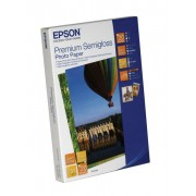 Hartie foto EPSON Premium Semigloss Photo Paper, 100 x 150 mm, 251g/m2, 50 sheets