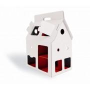EDUCATIONAL TOYS Casa Per Bambole - Cartone Da Decorare